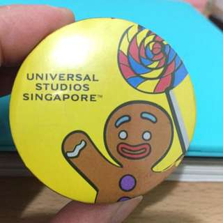 全新新加坡環球影城購入夢工廠薑餅人魔術毛巾
