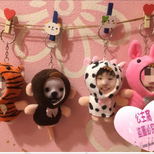3D吊飾娃娃