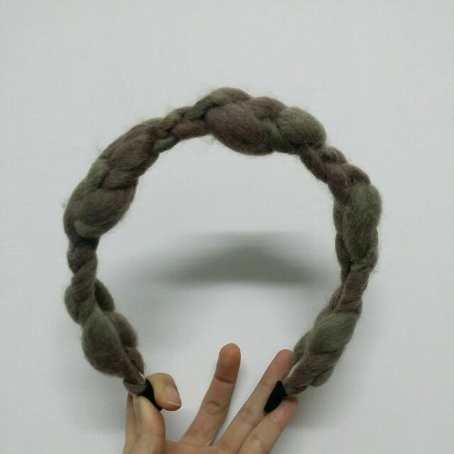 造型編織髮枯