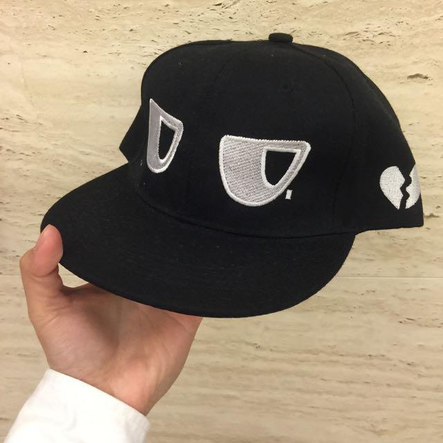 看什麼看!棒球帽(黑)