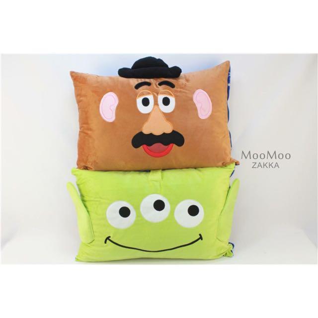 玩具總動員蛋頭先生三眼怪單人枕套枕頭套