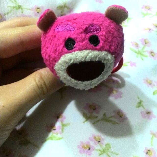 迪士尼Tsum Tsum 熊抱哥髮飾