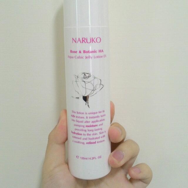 (二手)牛爾親研 NARUKO  森玫瑰水立方晶凍精華化妝水EX