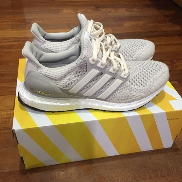 brand new 9d5d4 dff14 Adidas Ultra Boost Ltd Cream Chalk, Men s Fashion on Carousell