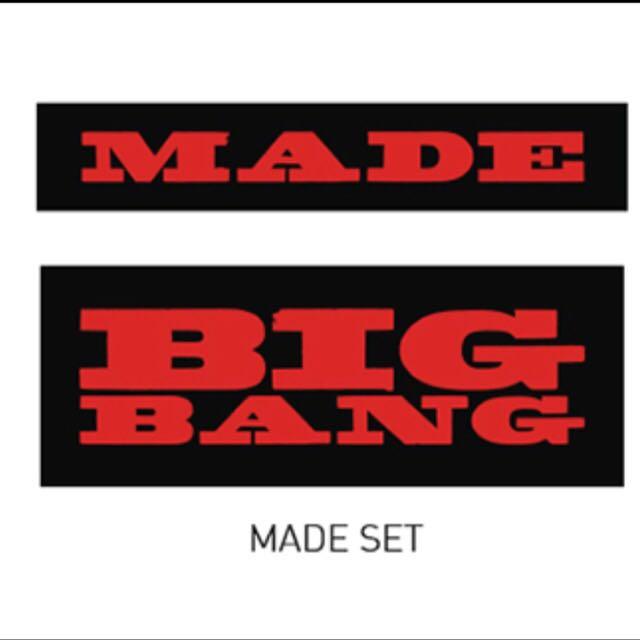 (已售誤下)BIGBANG MADE SET徽章 現貨一組