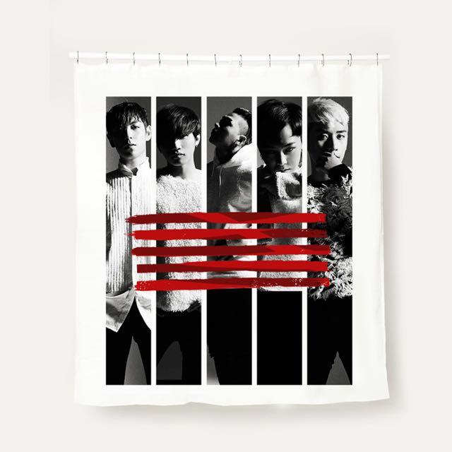 BIGBANG MADE 官方浴簾(也可當窗簾,屏風)(已售出)