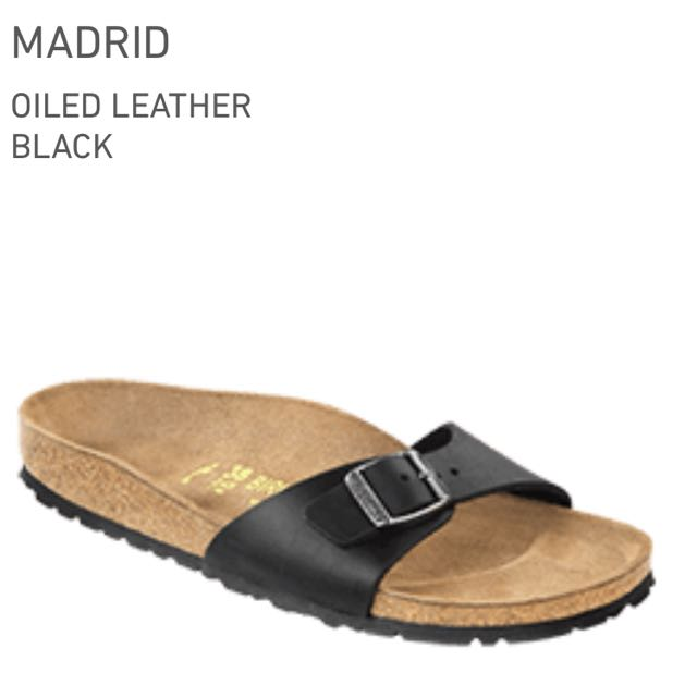 7cef6340b07 BNIB Birkenstock Madrid Sandals - Black