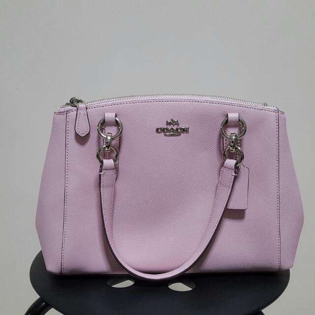 795efc9f21b9 Brand New Coach Bag (F36704 Pink Mini Christie Carryall in ...