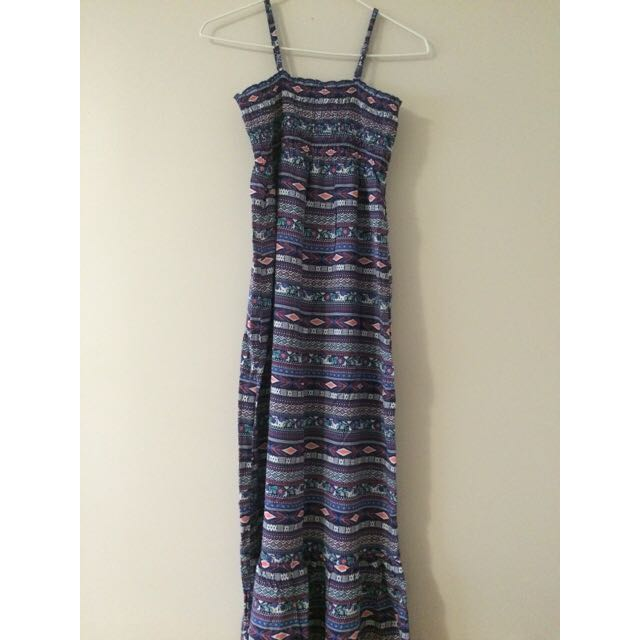 Brand New Silky Feel Maxi Dress