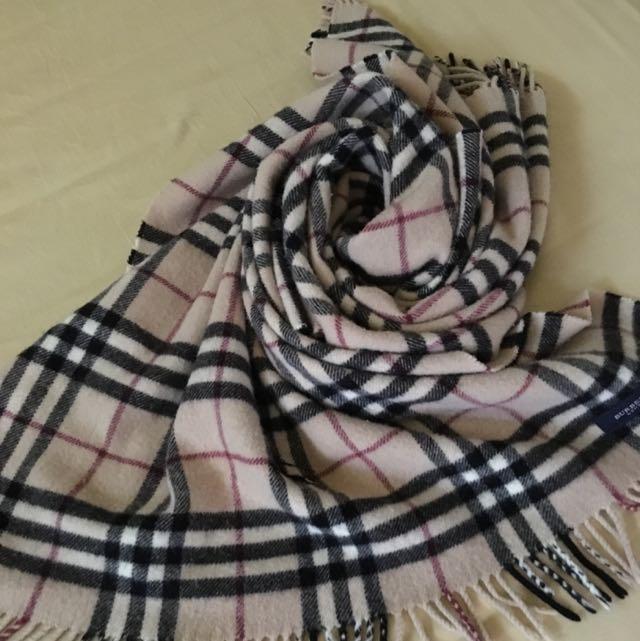 BURBERRY經典時尚圍巾