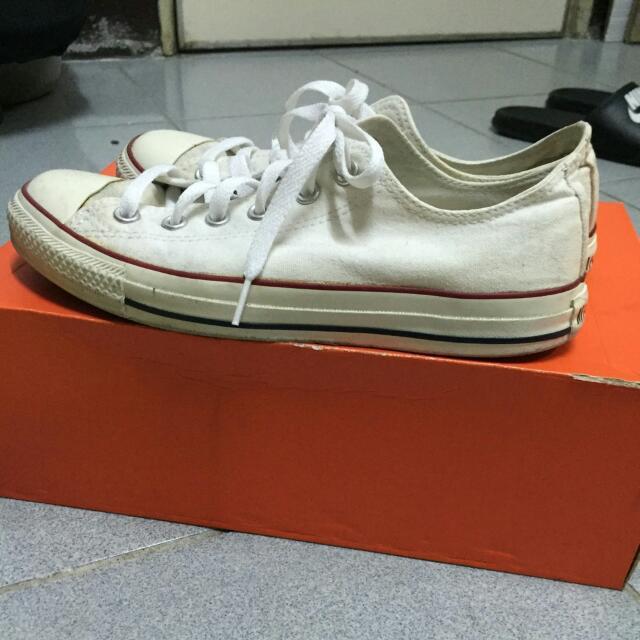 Converse 25.5cm 白色