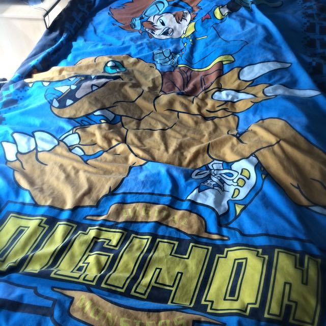 DIGIMON Bed Sheet!