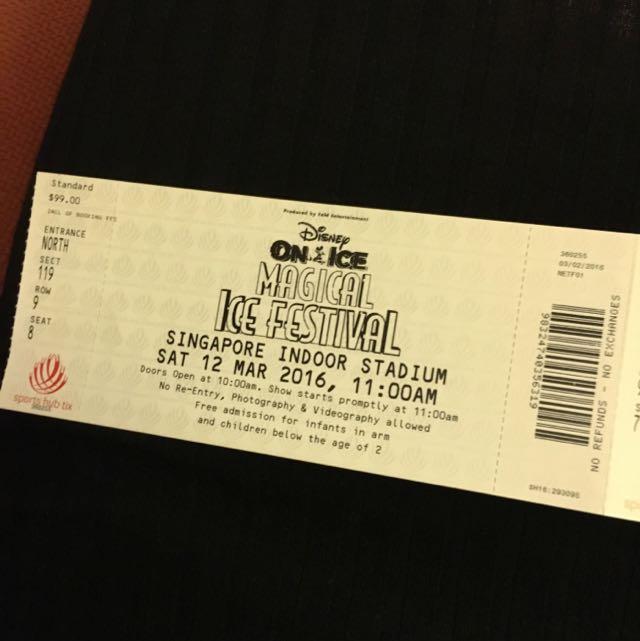 Disney on ice vip tickets entertainment on carousell m4hsunfo