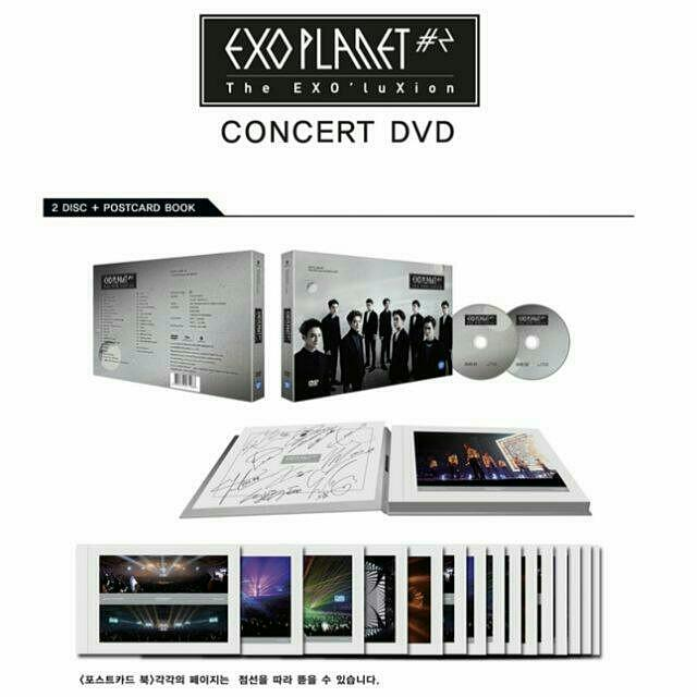 EXOLuXion Seoul Concert DVD