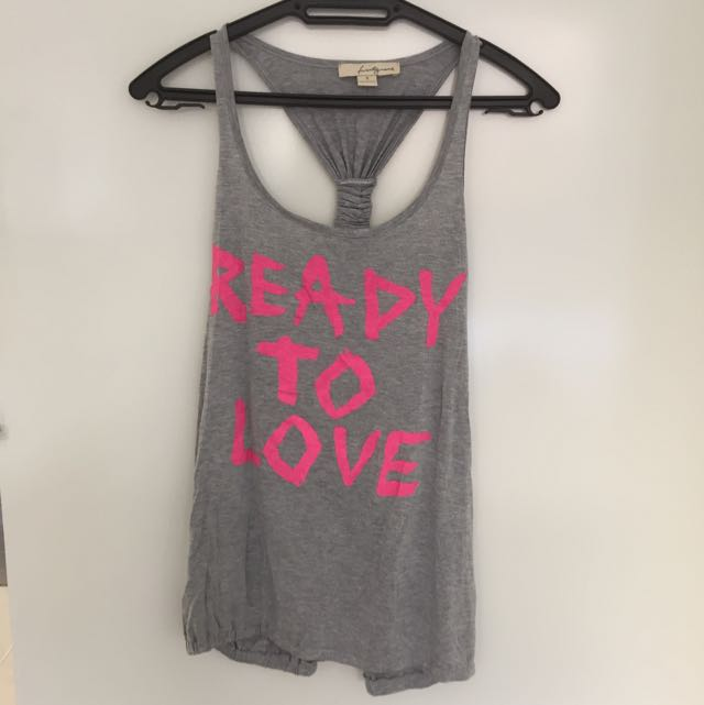 FOREVER 21 Graphic Tank