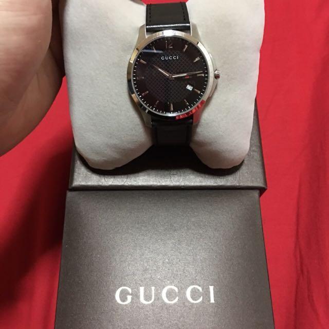 Gucci男錶