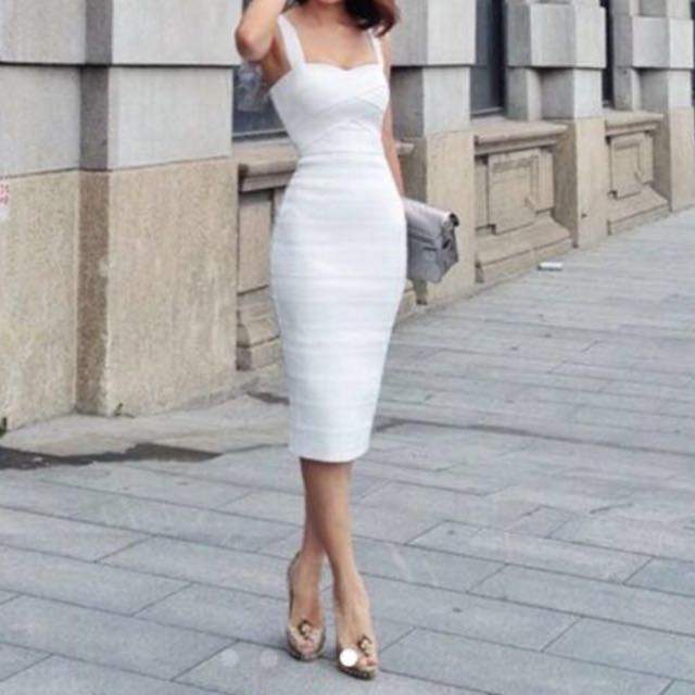c6872acd0aecad Herve Leger White Bandage Dress. Chanel Louis Vuitton Prada Chanel ...