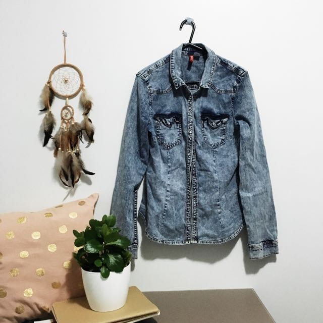 🌿H&M Denim Shirt