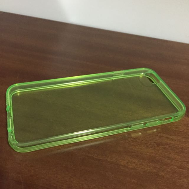 全新iPhone 6透明殼軟殼螢光色