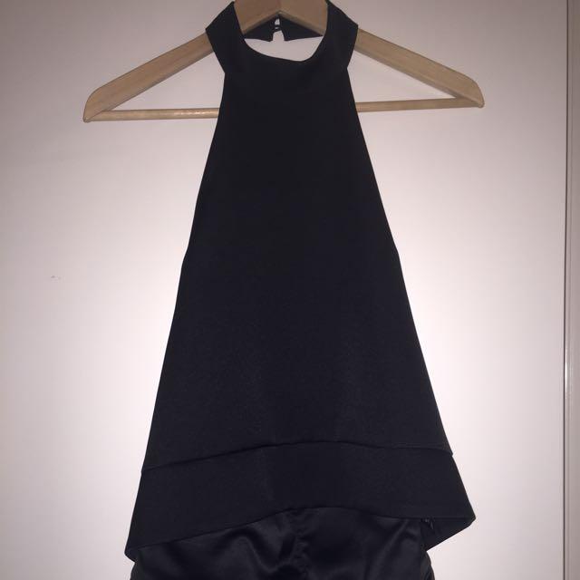 Keepsake The Label Black Silk Top