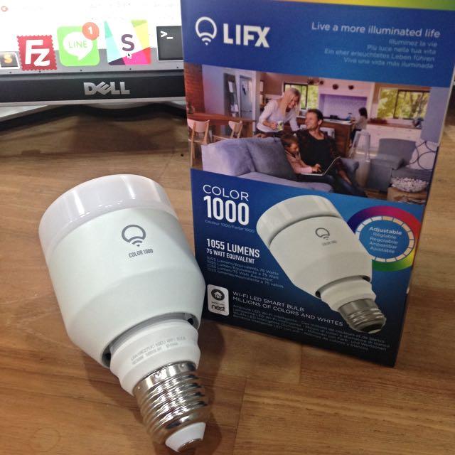 LIFX Color 1000 智慧燈泡