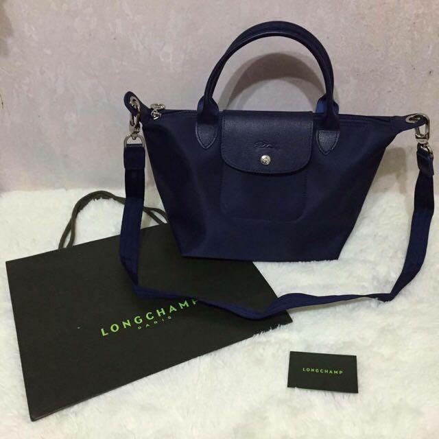 Longchamp Planter 1512 短藍s