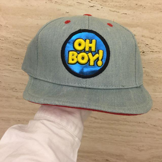 Oh Boy 可愛帽沿牛仔風帽子