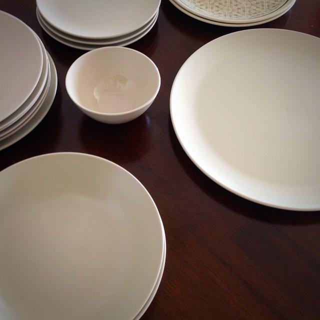 Plates, Bowls, Expat Moving Sale