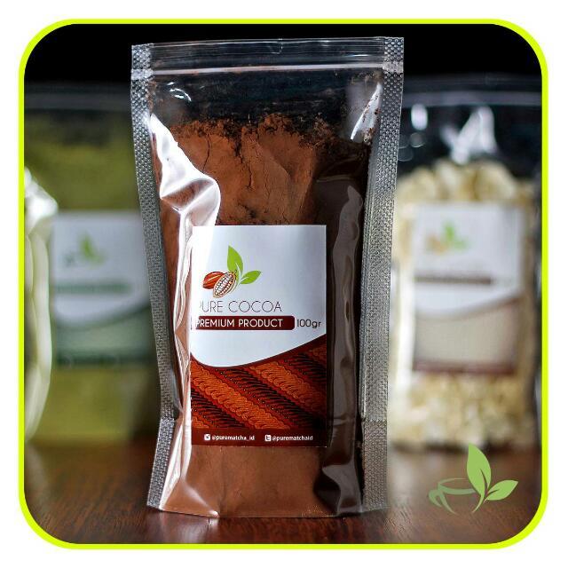 Pure Cocoa Bubuk Coklat Murni 100gr