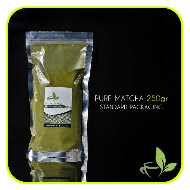 Pure Matcha Greentea Murni Green Tea 250gr