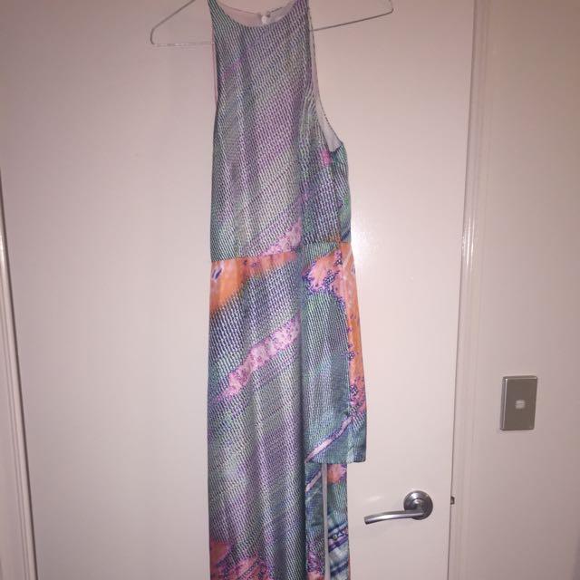 Talulah Geo Sand Print Dress