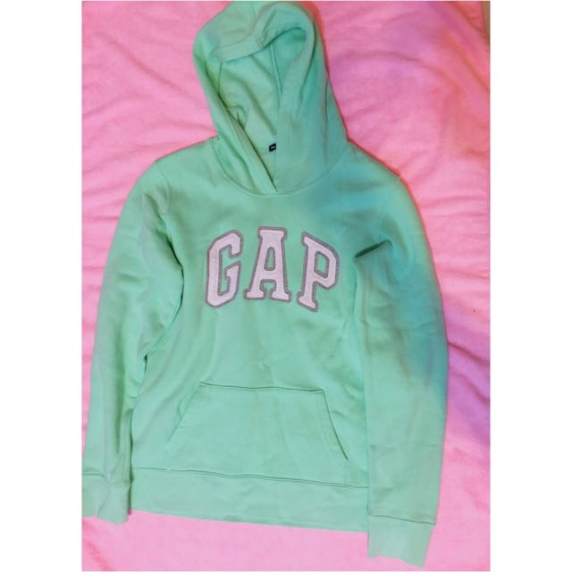 tiffany綠(GAP)長袖帽T☘