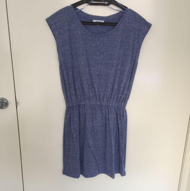 VALLEYGIRL Concrete Blue Dress