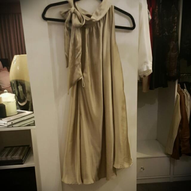 WAYNE COOPER 100% Silk Dress