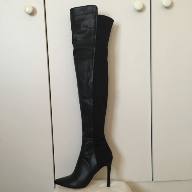 Zu Over The Knee Boots Size 5