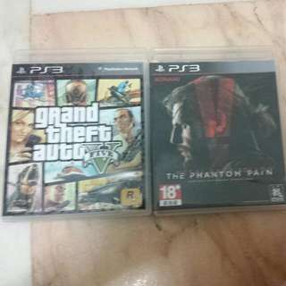 PS3 GTA V Only (Metal Gear SOLD)