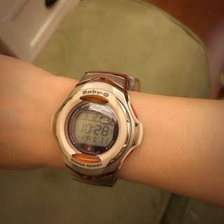 (保留中)baby-G太陽能女錶