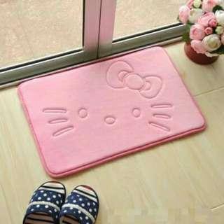 <粉色下單區> 凱蒂貓 KT 卡通 卡哇伊 吸水地墊 寵物地墊