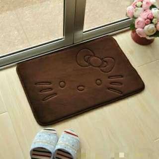<咖啡色下單區> 凱蒂貓 KT 卡通 卡哇伊 吸水地墊 寵物地墊