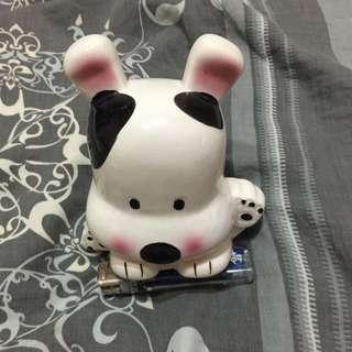 乳牛狗造型存錢筒