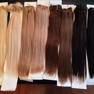 100% European Remy Human Hair Extensions