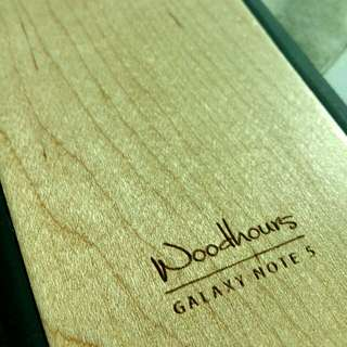 Timber Laminated Phone Cover (Galaxy Note 5)