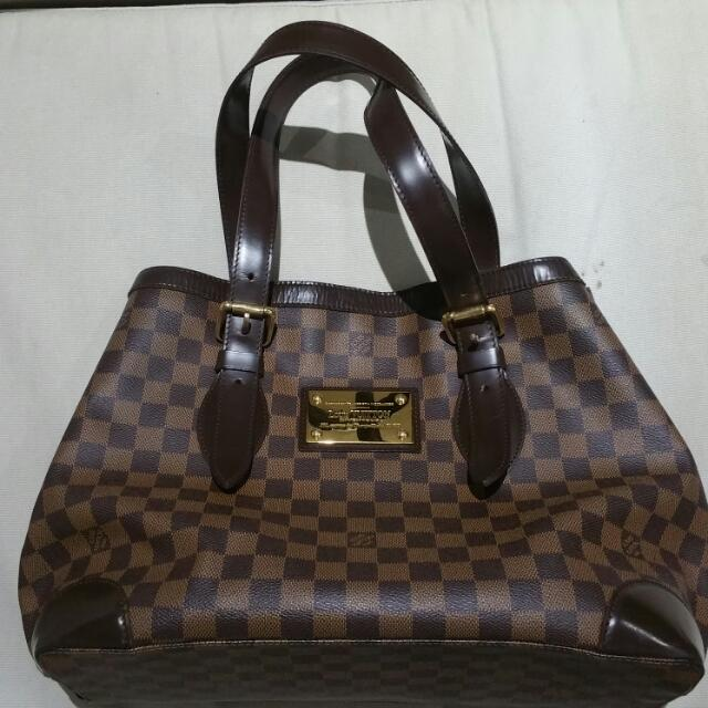 100% Authentic LV Hampstead MM