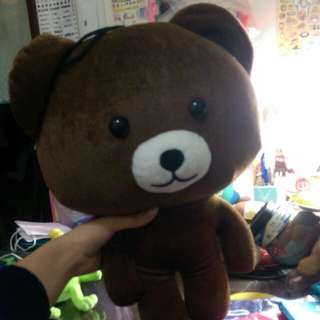 出清 熊熊玩偶 娃娃