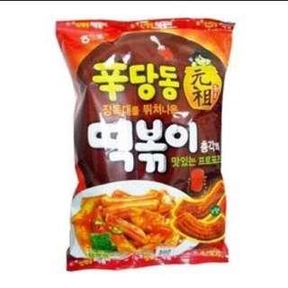 預購🙋韓國辣年糕餅乾