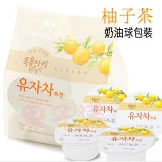 預購🙋韓國柚子茶 隨身球包裝