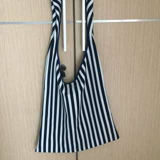 STRIPES TOTEBAG
