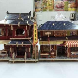 (木製)袖珍小屋