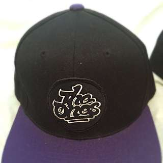 The Ones SnapBack Black Purple