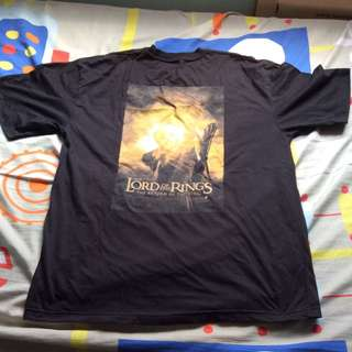 lord of the rings- the return of the king t-shirt